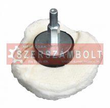 Polírozó rongy-mop csapos 75mm sh 6mm mushroom type