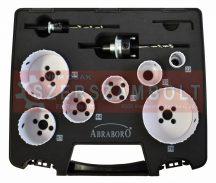 HSS-Co lyukfûrész készlet elektr. 10 részes