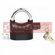 lakat riasztós 70mm 3k. edzett k. Q10mm kinbar alarm lock 110dba