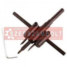 Körkivágó gipszkartonhoz 2 db 20-120mm állítható