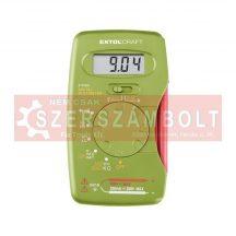 Digitális multiméter; Amper/Volt/Ohm mérõ, hangjelzõ funkcióval, CE, 1 db 9V elem 417400