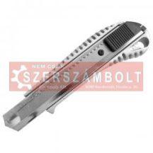Tapétavágó kés 18mm aluházas bliszteren pótpenge