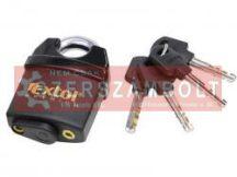 Biztonsági lakat, levágás elleni védelemmel, festett, vízálló, 4db kulcs; 60mm