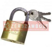 lakat, erõsített, 3 kulccsal (réz); 40mm (12db/doboz)