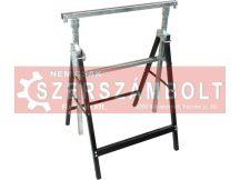 asztalosbak/festõbak állítható, összecsukható; 810mm-1300mm, max. terhelés: 150kg, saját tömeg: 6,5