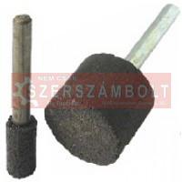 Flexmann For Cut csapos bakelit kötésű korong 16x30x6mm A46 Q/B fekete, fém-inox
