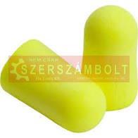 Hengeres füldugó 3M soft, sárga
