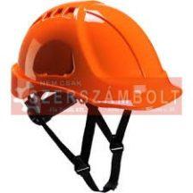 PP sisak,narancssárga,6-pontos rögzítõvel,homlokpánttal