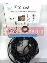 endoszkópos kamera 10m 2 az 1-ben