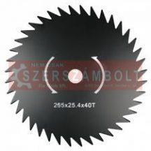 Fűkasza vágótárcsa 250x25x40T